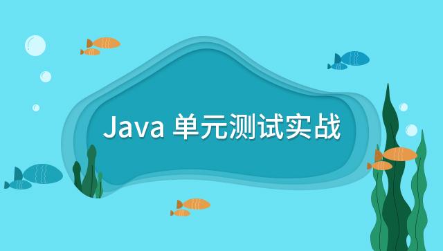 Java 单元测试实战
